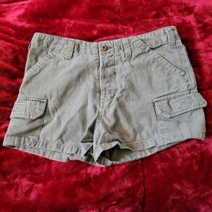 Coco Blue Shorts Button Up 90's Vintage Retro